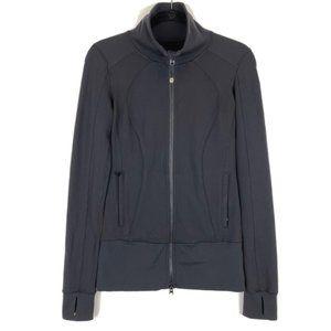 Lululemon 4 Jacket Black Stride Thumbholes EUC